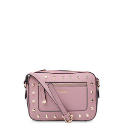 Mia Stud X Body Bag Pink