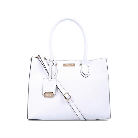 Robyn Structured Tote White