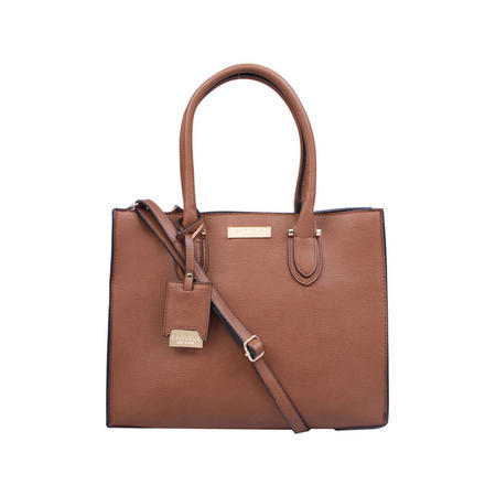 Robyn Structured Tote Brown
