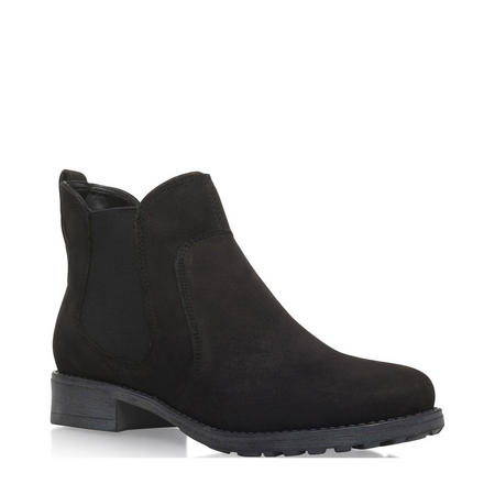 Solid Ankle Boot Black