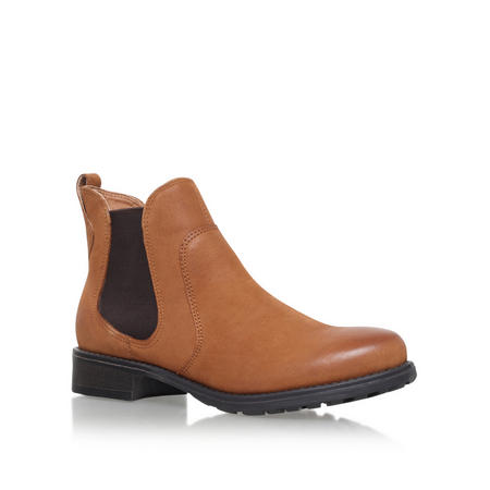 Solid Ankle Boot Brown