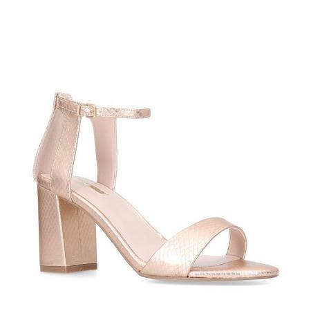 Gigi Sandals Metallic