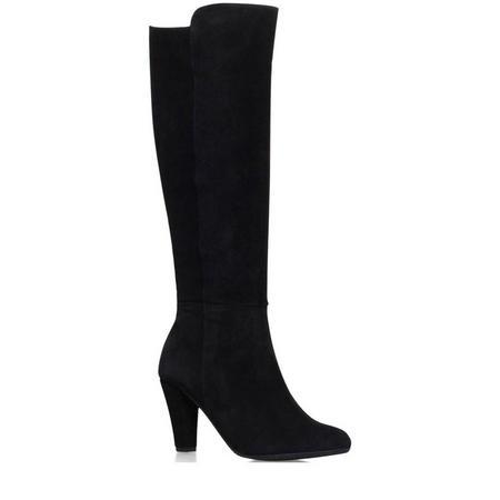 Viva High Leg Boots Black