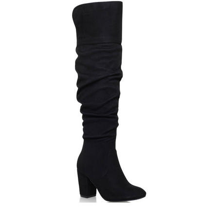 Healey High Leg Boot Black