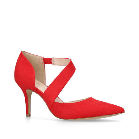 Kremi Court Shoes Red