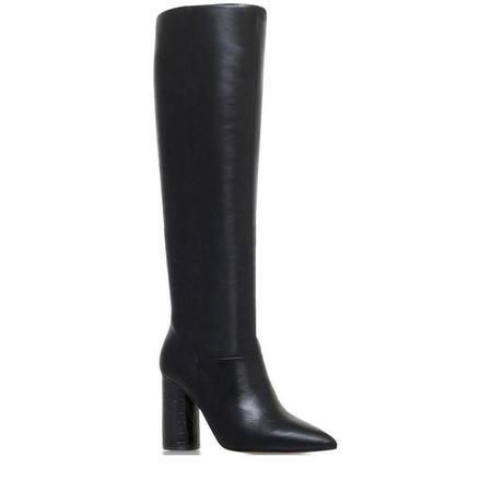 Trance High Leg Boots Black
