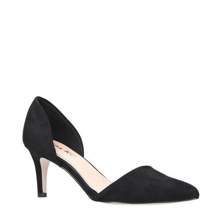 Celina Court Shoe Black