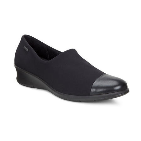 Felicia Slip On Goretex Shoe Black