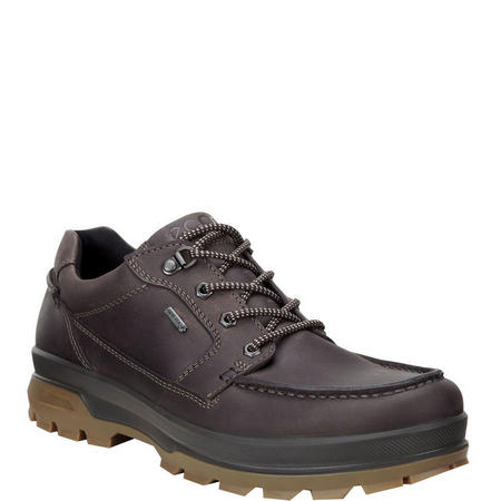 Rugged Mens Track Shoe Brown