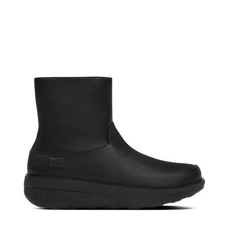Loaff Shorty Boot Leather Black
