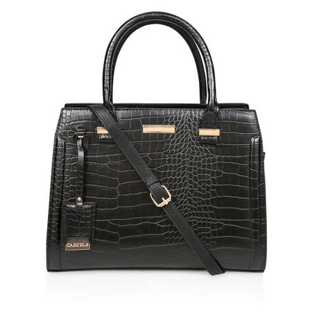 Holly Croc Zip Tote