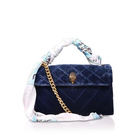 Velvet Kensington Bag