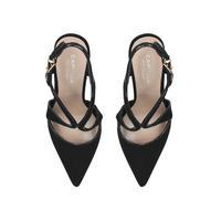 Krave Court Shoe Black