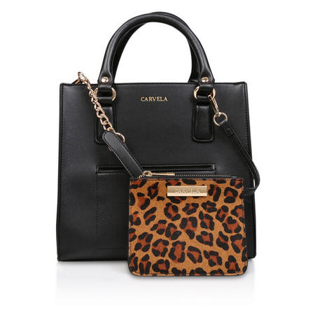 d579f822eac8 Carvela Simba Pocket Purse Tote Bag