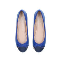 Melody Toecap Ballet Pump Blue