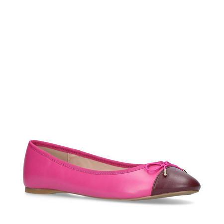 Melody Toecap Ballet Pump Pink