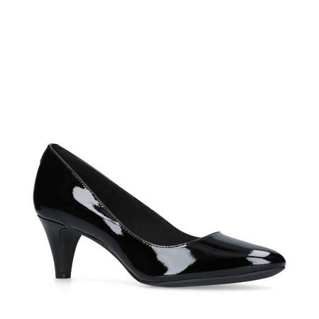 Rosalie Court Shoe Black