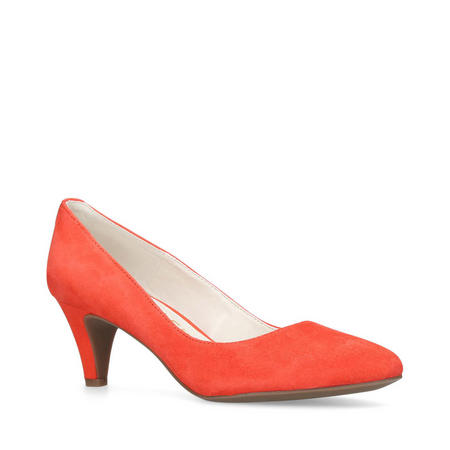 Rosalie Court Shoe Red