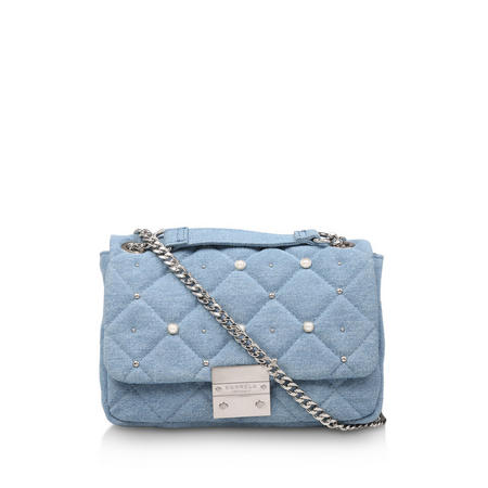 Sadie Denim Pearl Bag
