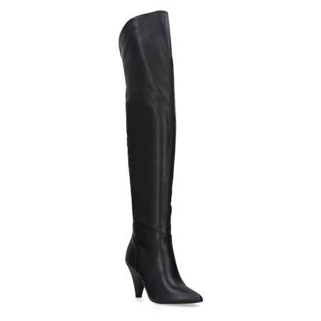 Violet Knee High Boots