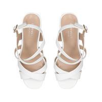 Saddle Sandal White