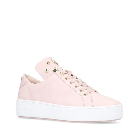 Mindy Heart Lace Up Trainer Pink