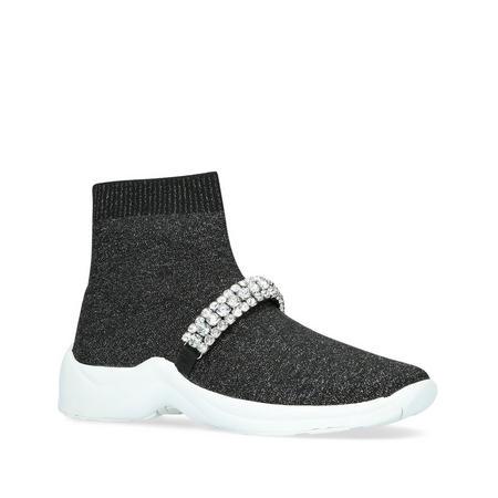 Linford Sock Jewel Trainer Metallic