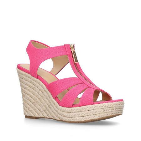 Berkley Wedge Sandal Pink