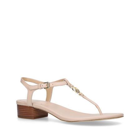 Cayla Mid Sandal Beige