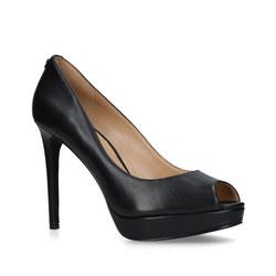 Erika Platform Court Shoe Black