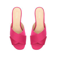 Shelly Flat Sandal Pink