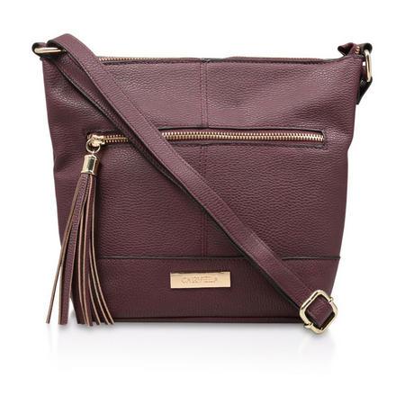 Betty Zip Top Tassel Bag