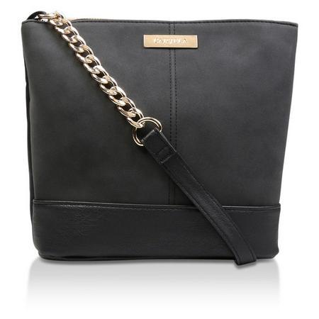 Rich Zip Top Chn Bckt Bag