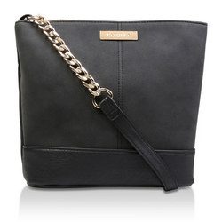 Rich Zip Top Chn Bckt Bag