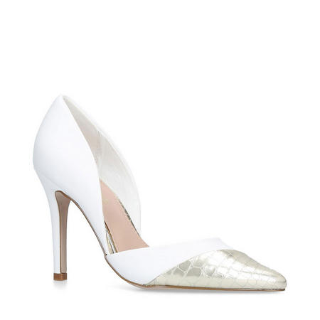 Caityln Court Shoe White