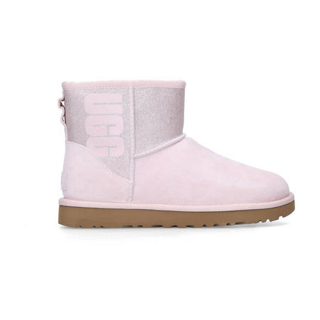 Classic Mini Ugg Sparkle Ankle Boot