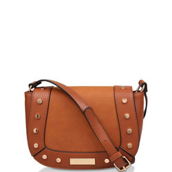 Connie Studded Saddle Bag