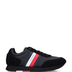Flag Leather Trainers