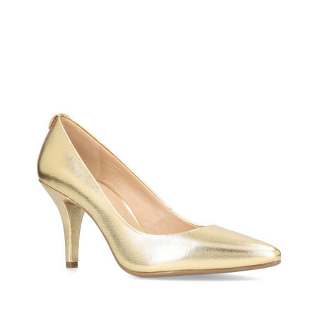 MK Flex Mid Pump Court Shoe Gold-Tone