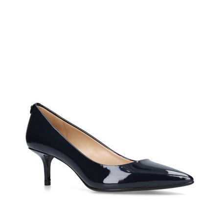 MK Flex Kitten Pump Court Shoe Blue