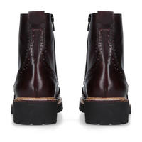 Snail Ankle Boot