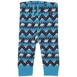 Polar Bear Leggings Blue