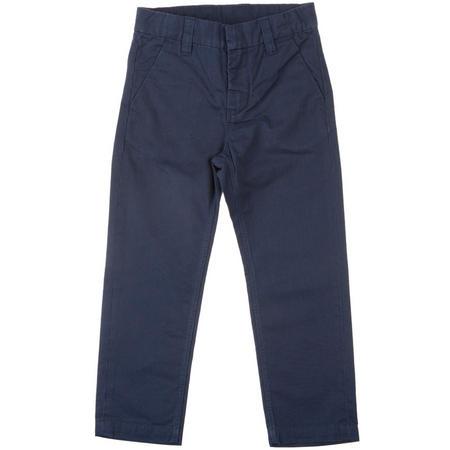 Boys Cotton Chinos Blue