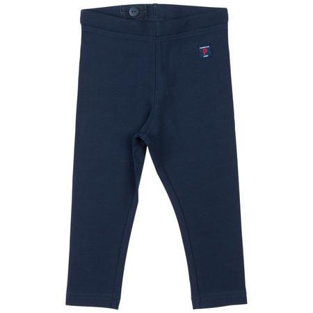 Organic Cotton Leggings Blue