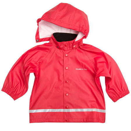 Babies Red Raincoat Red