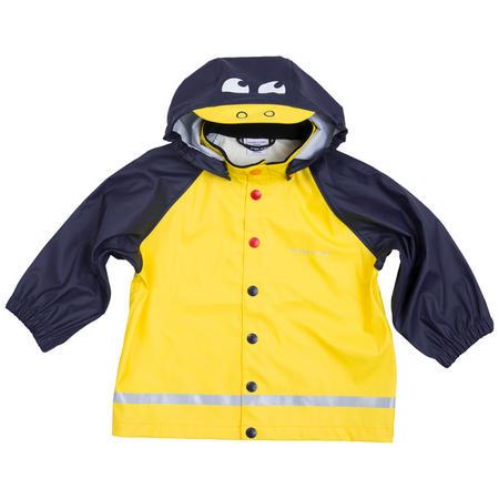 Babies Duck Raincoat Yellow