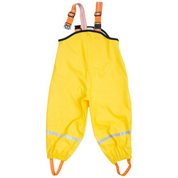 Kids Rain Trousers Yellow