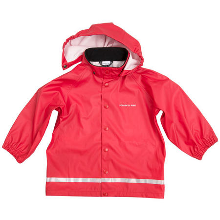 Kids Red Raincoat Red