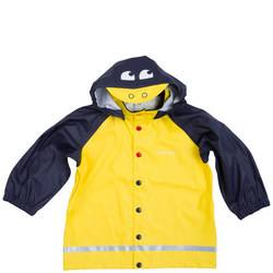Kids Duck Raincoat Yellow