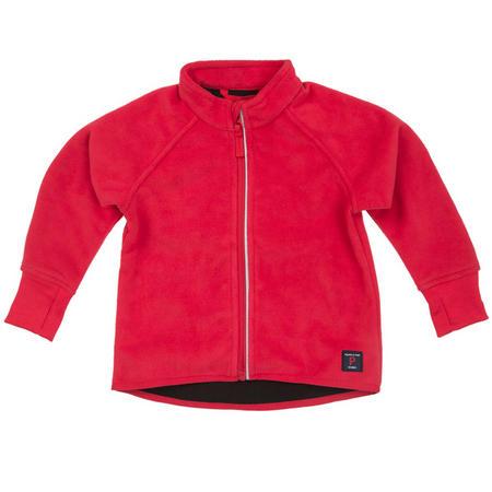 Babies Fleece Jacket Red